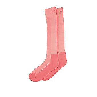 Dublin Adultos Cool-tec Calcetines - Polvo Rosa (una talla)