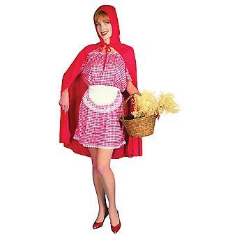 Bristol Novelty Mujeres/Señoras Rojo Riding Hood Traje