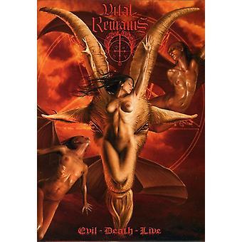 Vital Remains - Evil Death Live [DVD] USA import