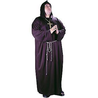 Monk Adult Plus Costume