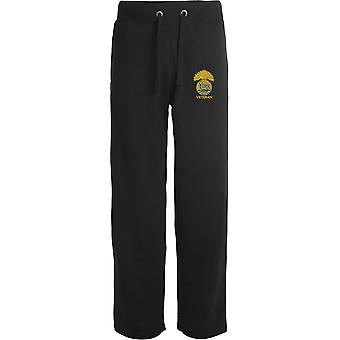 Royal Munster Fusiliers veteran-licenseret British Army broderet åbne hem sweatpants/jogging bunde