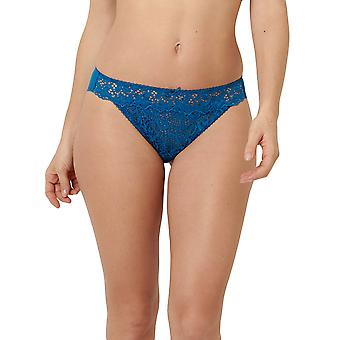 Sans Complexe 319611-GXJ Mujeres's Clémence Blue Lake Lace Knicker Panty Tanga