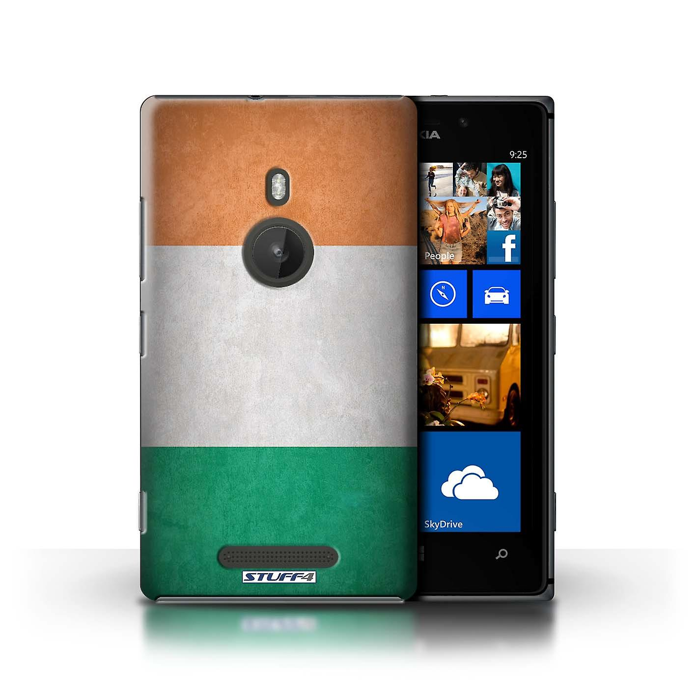 STUFF4 Case/Cover for Nokia Lumia 925/Ireland/Irish/Flags