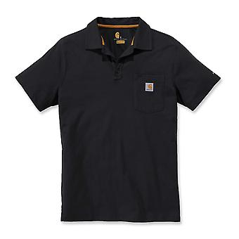 Carhartt Men's Polo Shirt Force Cotton Delmont Pocket