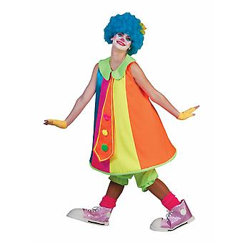 Clown Dress Silly Billy Costume Ladies Fool Circus Funmaker Colorful Carnival Women's Costume Clown Dress Silly Billy Costume Ladies Fool Circus Funmaker Colorful Carnival Women's Costume Clown Dress