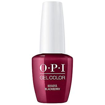 OPI GelColor Gel Color - Soak Off Gel Polish - Bogota Blackberry 15ml (GC F52)