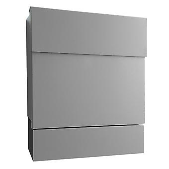 RADIUS letterbox Letterman 5 silver with newspaper role - 561 c.