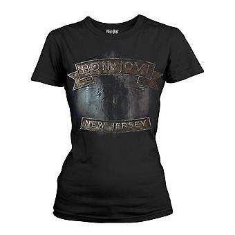 Bon Jovi New Jersey T-Shirt Girlie