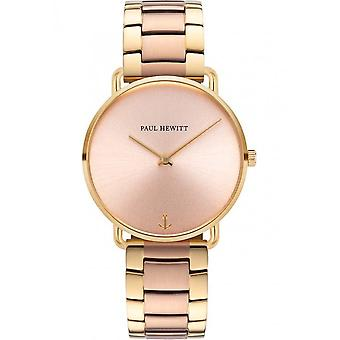 PAUL HEWITT - Wristwatch - Unisex - PH-M-G-RS-46S - MISS OCEAN ROSE GOLD METAL ROSE GOLD