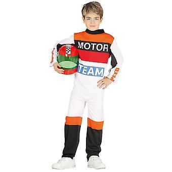 Boys Motorbike Racer Fancy Dress Costume