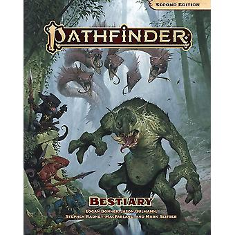 Bestiary Hardcover Pathfinder RPG Second Edition Book