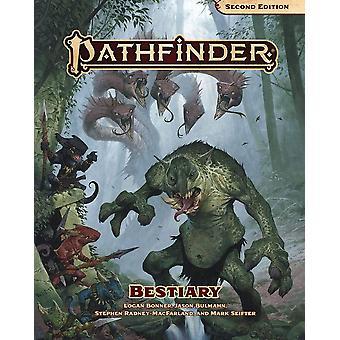 Bestiary hardcover Pathfinder RPG anden udgave bog