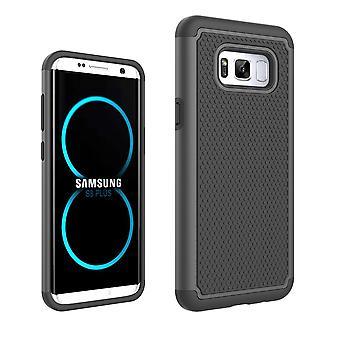 Skrov för Samsung Galaxy S8 Plus Anti-Shock och svart bi-materia