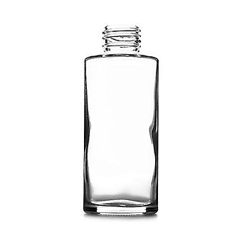 100ml clear round glass bottle - box of 48 or 96