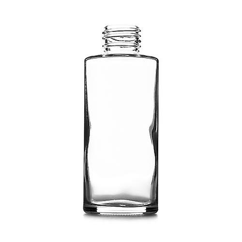 100ml clear round glass bottle - box of 24