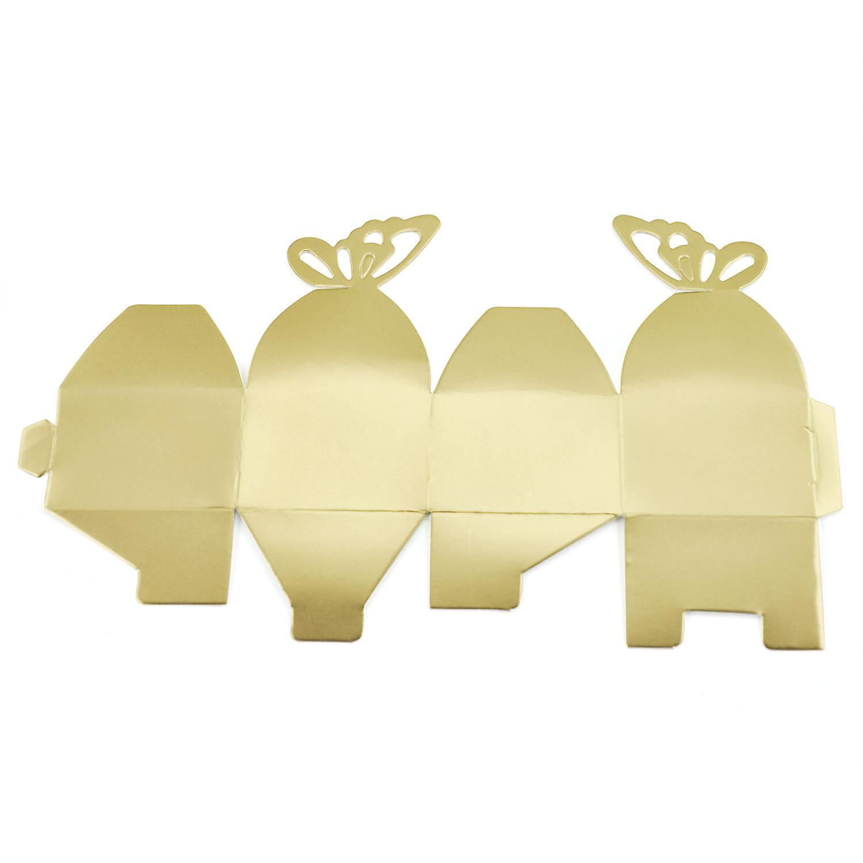 تريكسيس 50 أجهزة زفاف العرسان مربعات مؤيدة الاستحمام الأطراف هدايا الطاولات
