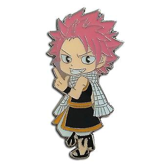 PIN set-Fairy Tail-SD Natsu ny licenseret ge50273