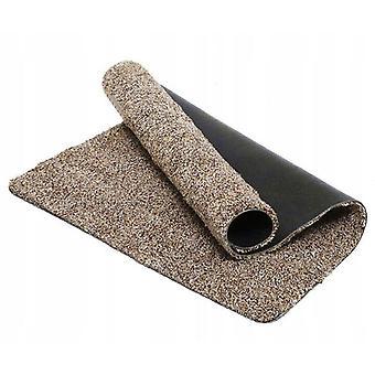 Super Absorbent Door Mat Magic Microfibre Step Clean Indoor Outdoor Washable Brown