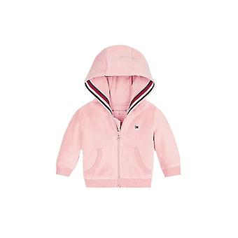 Tommy Hilfiger Girls Tommy Hilfiger Infant Girls Velour Tracksuit