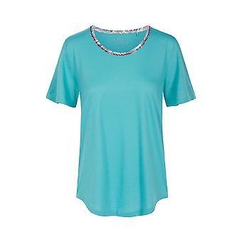 Rösch 1203217-15640 Femei&s Pure Spearmint Blue Pyjama Top Rösch 1203217-15640 Femei & apos;s Pure Spearmint Blue Pyjama Top
