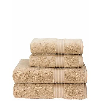Christy Christy Supreme Luxury Weight 2 Towel Set 650GSM 1 Hand 1 BathTowels