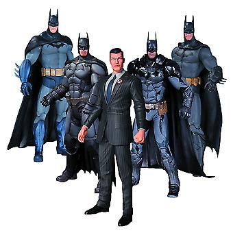 Batman Arkham Series Batman Action Cijfers 5 Pk