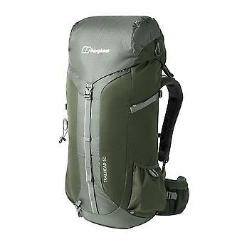 Berghaus Trailhead 2.0 50 Açık Yürüyüş Sırt Çantası Sırt Çantası Çanta Haki Yeşil
