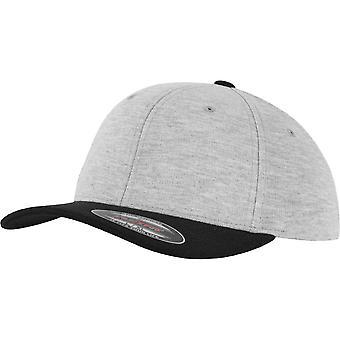 Flexfit by Yupoong Mens Flexfit Double Jersey Baseball Cap