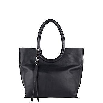 Legend DIANO-A Black Women's shoulder bag (Black (schwarz 0001)) 12x32x38 cm (B x H x T)