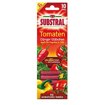 SUBSTRAL® fertilizer sticks for tomatoes, 10 pieces