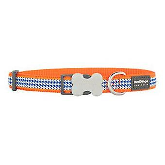 Red Dingo Collar para Perros Fang it Naranja L
