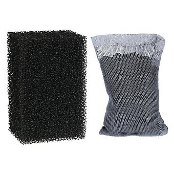 Trixie 2 & 1 Sponge Filter Activated Carbon Filter 380 M