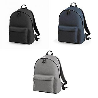 Bagbase Two Tone Fashion Backpack / Rucksack / Bag (18 Litres) (Pack of 2)