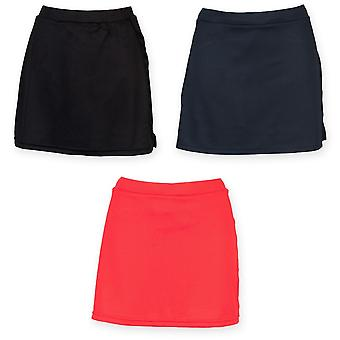 Finden & Hales Womens/Ladies Sports Skort With Moisture Wicking Finish
