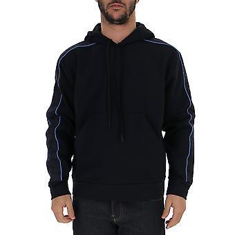 Prada Sjn2471srgf0ysy Männer's blau Baumwolle Sweatshirt