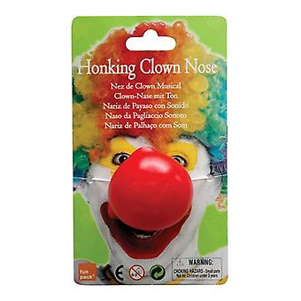 Clown næse. Dyttende