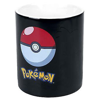Pokémon personajes de cambio de calor taza