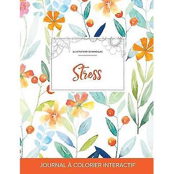 Journal de coloration adulte Stress Illustrations de mandalas Floral printanier by Wegner & Courtney