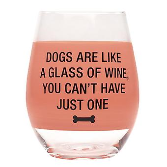 Say What Wine Glass