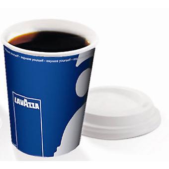 Lavazza 8oz Hot Cup Sip Lids