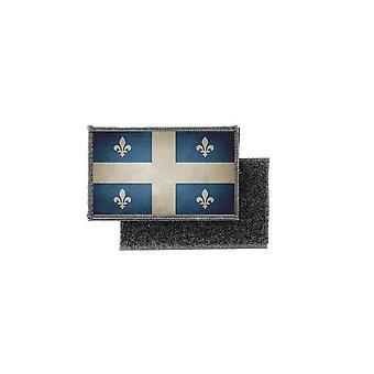 Patch ecusson prints vintage badge flag canada quebec