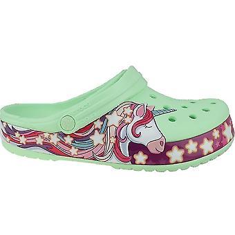 鳄鱼乐趣实验室独角兽乐队 Clog 2062703TI 通用夏季婴儿鞋