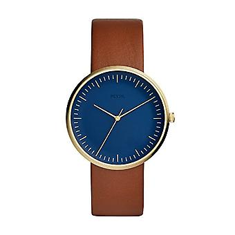 Fossil Analog quartz men's watch with leather FS5473