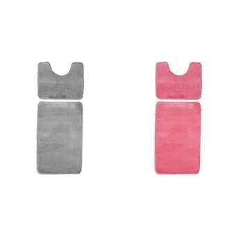 VestirCasa Moline Twist Set de tapis de bain (2 pièces)