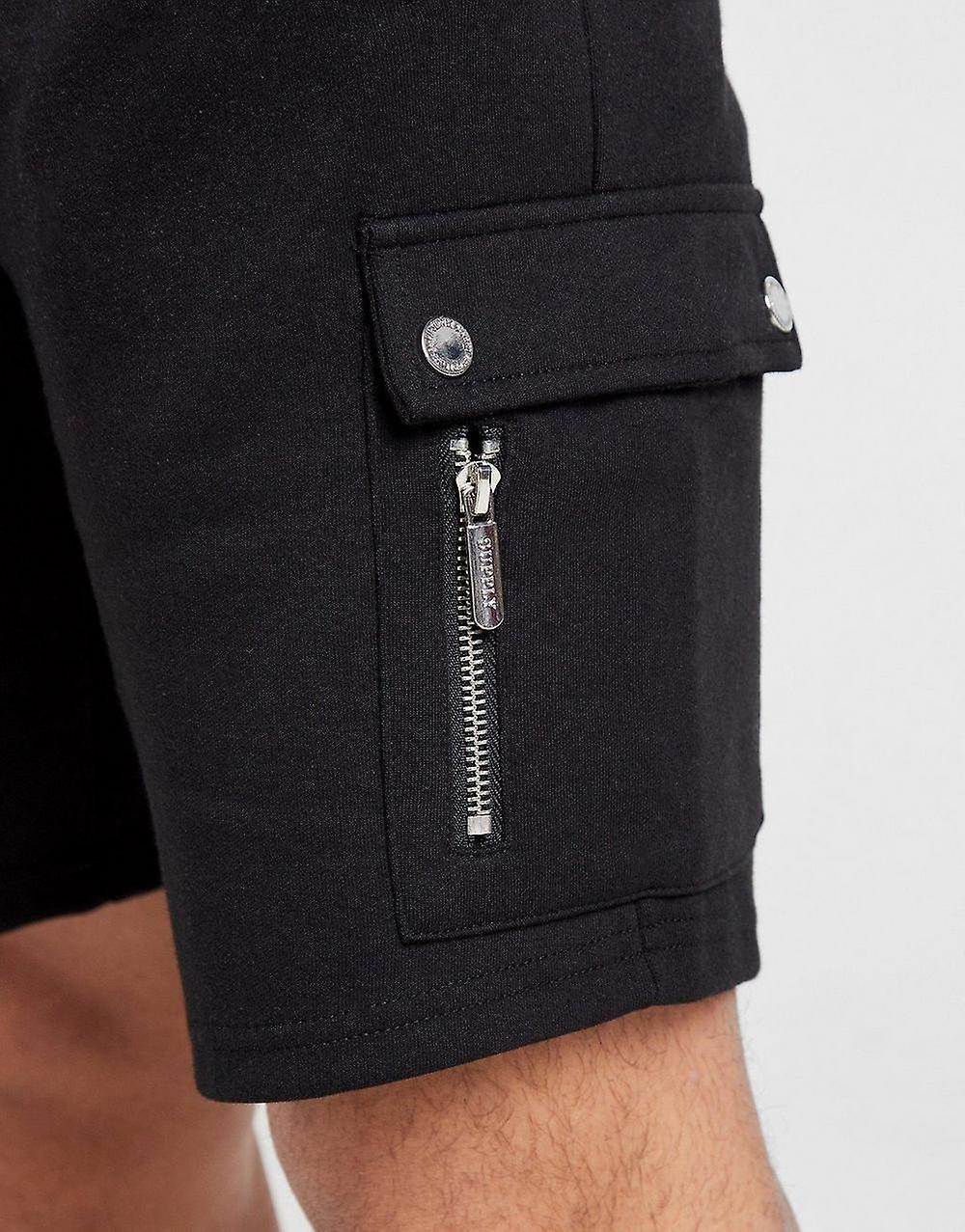 New Supply & Demand Men's Military Shorts Black XOfnAc