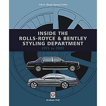 Binnen in de Rolls-Royce en Bentley Styling Afdeling 1971 tot 2001