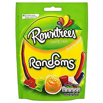 Rowntrees Randoms Sweets Sharing Pouch, 150 g - Pack of 9