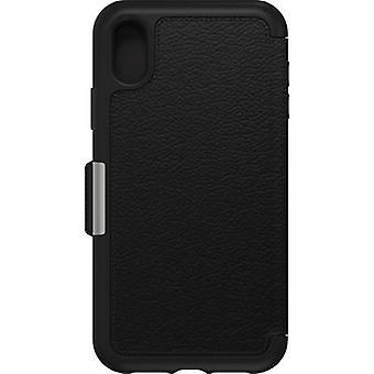 Otterbox Strada Flip Case Apple iPhone XR Black