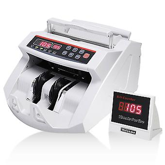 Professional Money Bill Note Counter Fast Currency Cash Counting Machine Bank UK