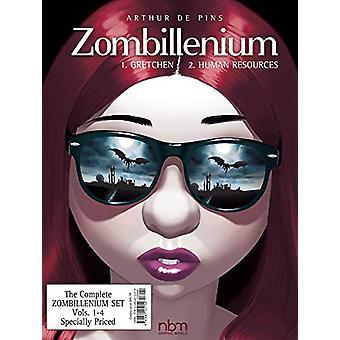 Zombillenium Set - Vols. 1-4 by Arthur de Pins - 9781681122403 Book